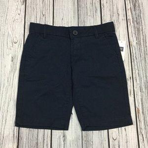 Gap Girls 7 or 12 Navy Blue Bermuda Shorts